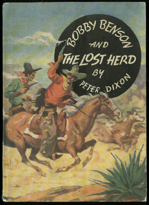Bobby Benson & The Lost Herd paperback / comic Hecker's Flour Radio Show 1936