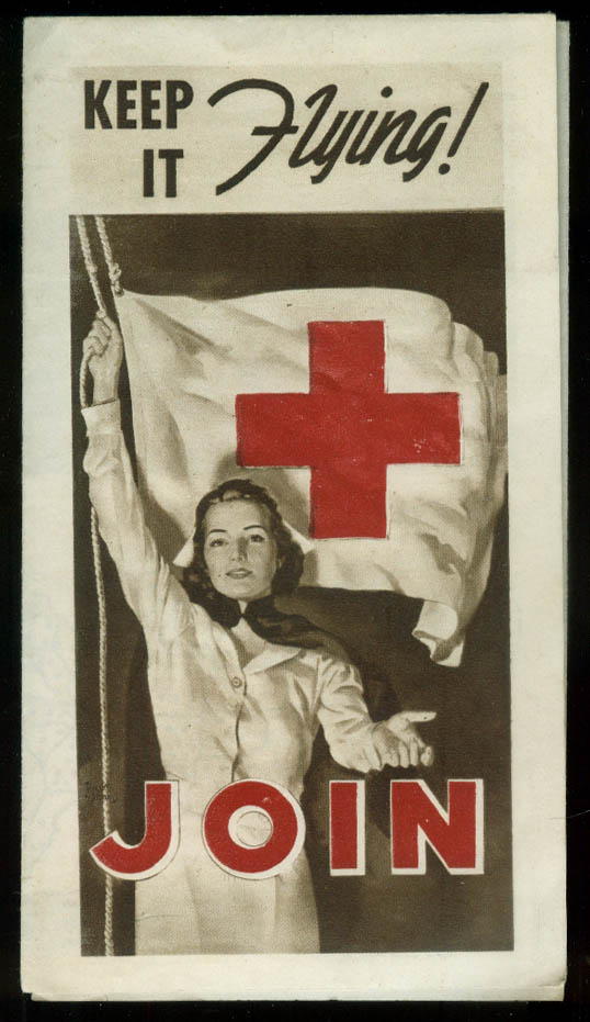 Keep It Flying! Join the American Red Cross folder 1939
