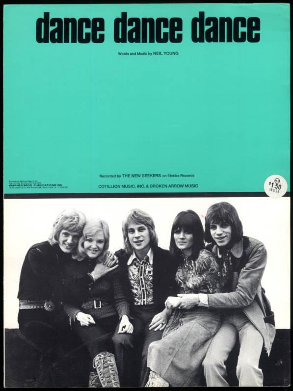 Dance Dance Dance sheet music The New Seekers Neil Young 1972