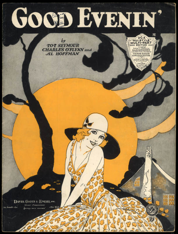 Good Evenin' sheet music by Seymour, O'Flynn & Hoffman / pretty girl 1930