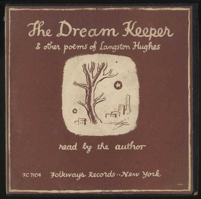 Langston Hughes: The Dream Keeper 33rpm record with booklet + 1955 1st ed