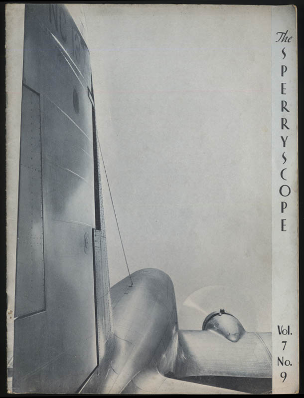 Sperry SPERRYSCOPE 12 1935 Flying TWA; Gdynia-America Thor Solberg China Clipper