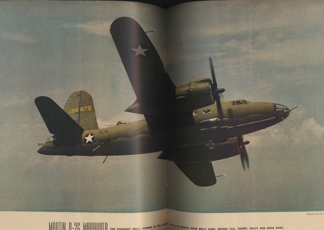 AIR TRAILS PICTORIAL 3 1944 P-47 Thunderbolt B-24 Liberator B-25