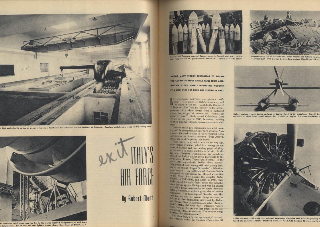 AIR TRAILS PICTORIAL 3 1944 P-47 Thunderbolt B-24 Liberator B-25