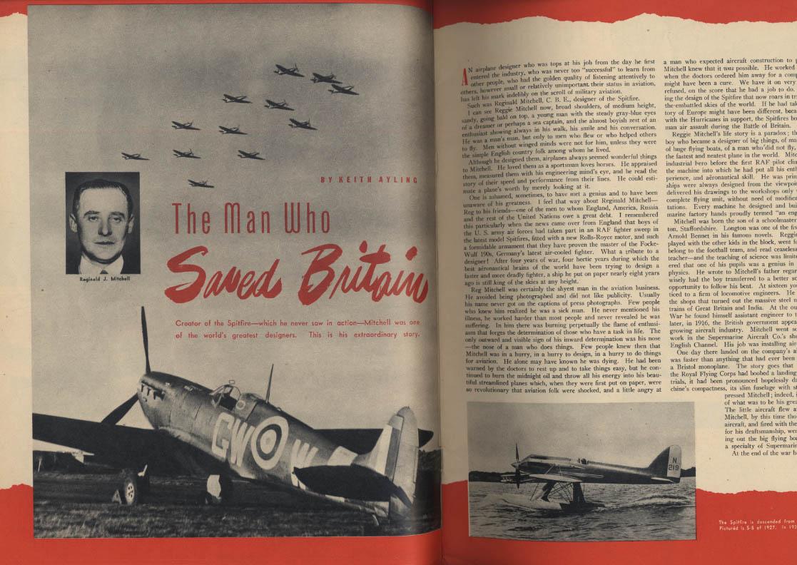 AIR TRAILS PICTORIAL 11 1942 DB-7 Focke-Wulf 190 Spitfire French AF CAP