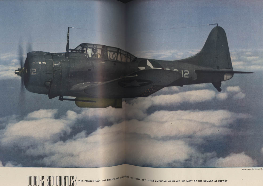 AIR TRAILS PICTORIAL 11 1943 Lockheed F-5 SBD Dauntless Hellcat