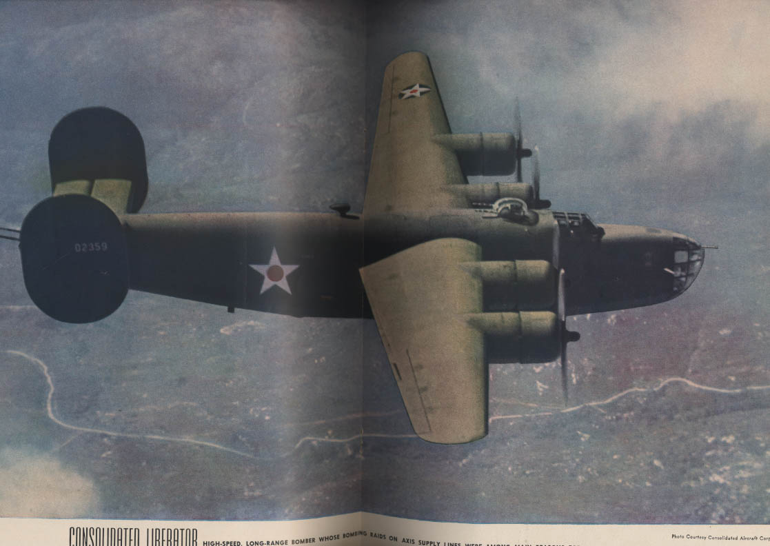 AIR TRAILS PICTORIAL 4 1943 B-24 Liberator Constellation Spitfire
