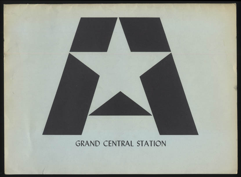 Astroflash Horoscope IBM computer printout Grand Central Station NYC 1970