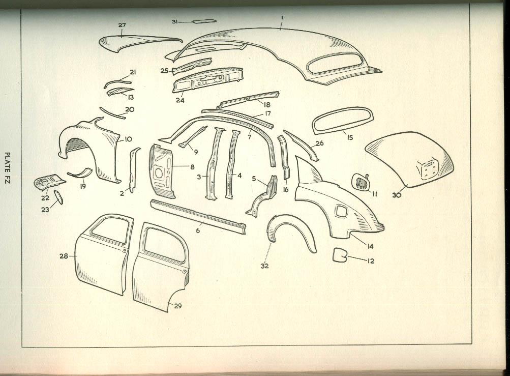 Jaguar 3.4 Litre Spare Parts Catalogue 1 1961 edition
