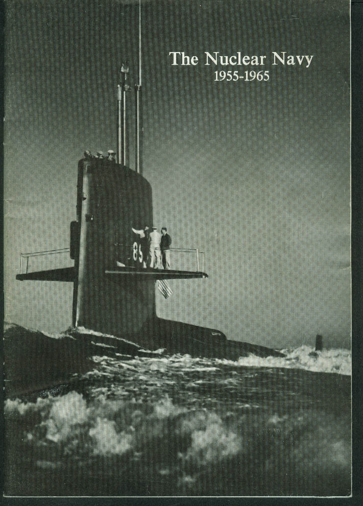 General Dynamics: The Nuclear Navy 1955-1965 brochure