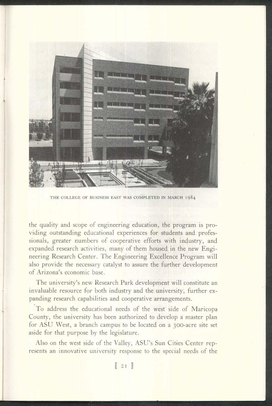 NEWCOMEN #1230 Arizona State University J Russell Nelson 5 1985 1st Printing