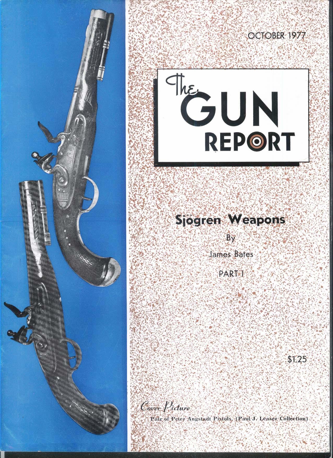 GUN REPORT Sjogren Weapons Peter Angstadt Pistols 10 1977