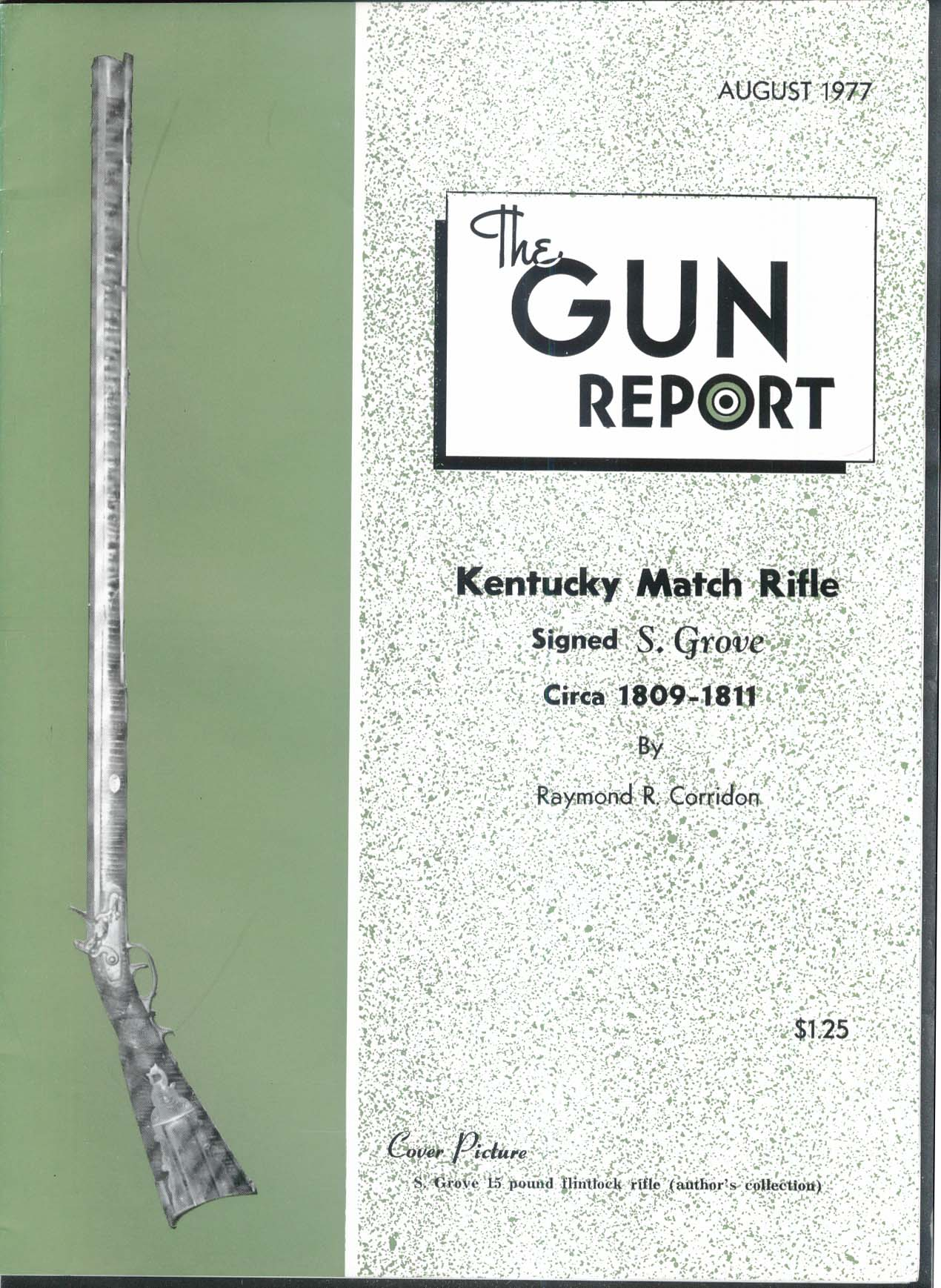 GUN REPORT S Grove Kentucky Match Rifle Shotgun Shell Loading Blocks 8 1977