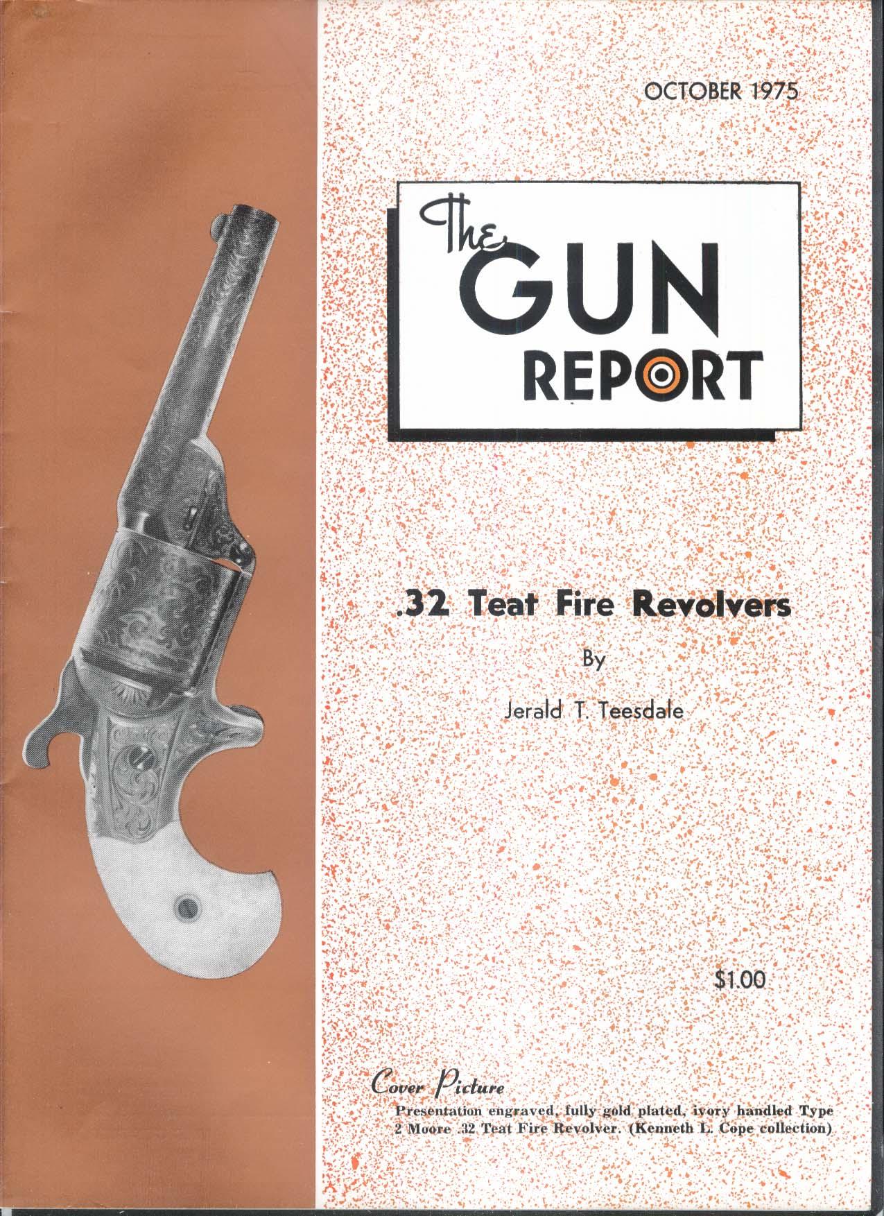 GUN REPORT 32 Teat Fire Revolvers 10 1975