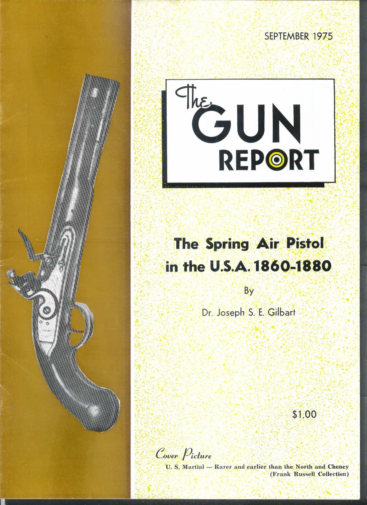 GUN REPORT Spring Air Pistol US Martial Pistol British Colt Automatic 9 1975