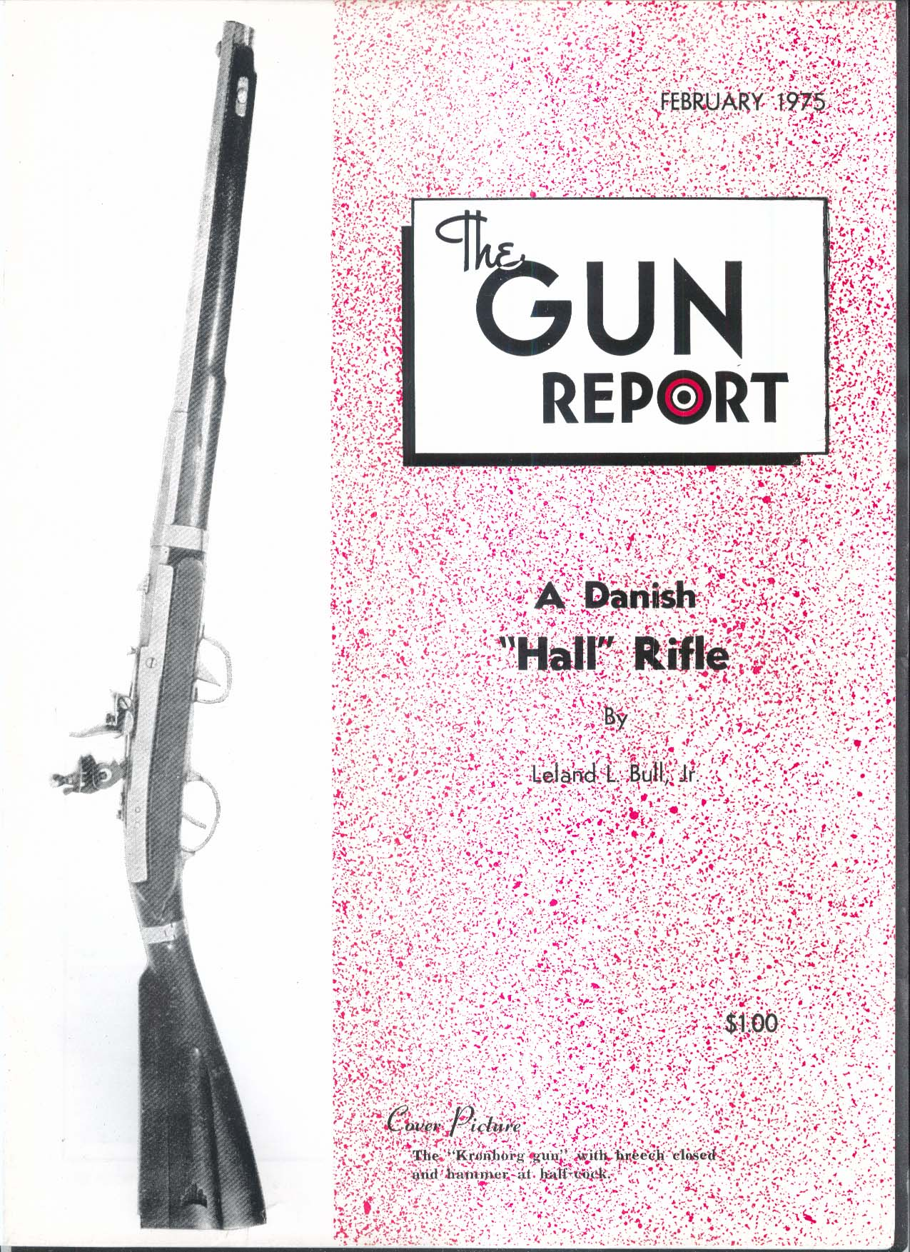 GUN REPORT Danish Hall Rifle Kronborg Gun + 2 1975