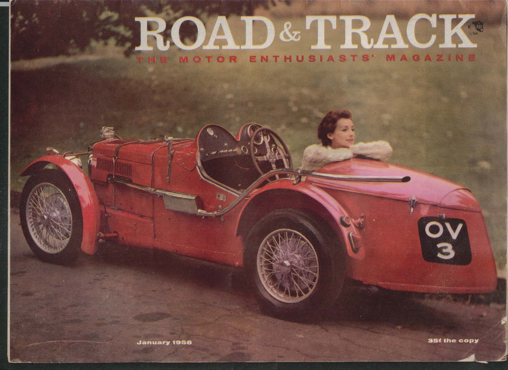 ROAD & TRACK Rolls-Royce Phanton III Mercedes 300-SL Vauxhall road tests 1 1958