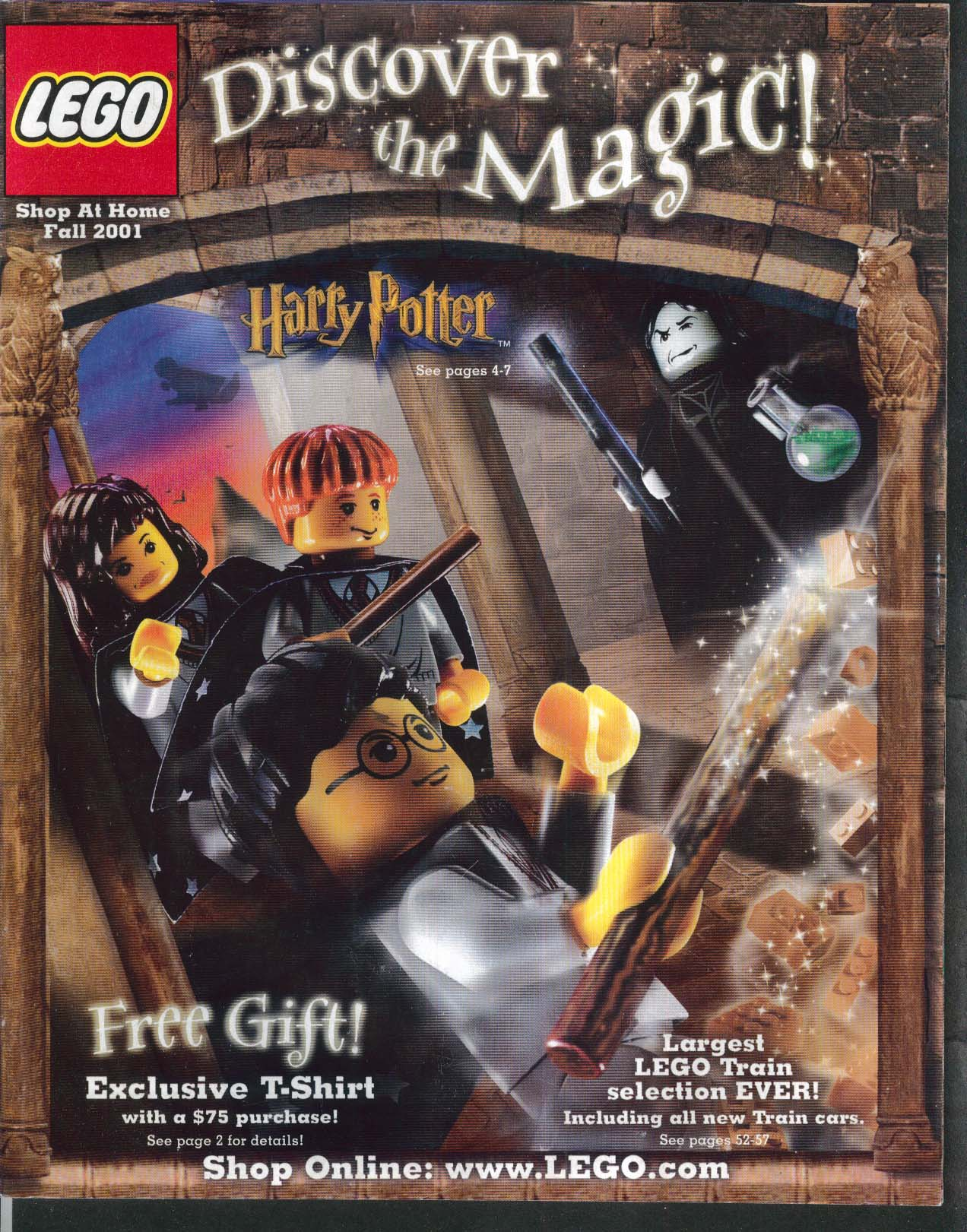 Shop At Home lego shop at home catalog fall 2001 harry potter wars