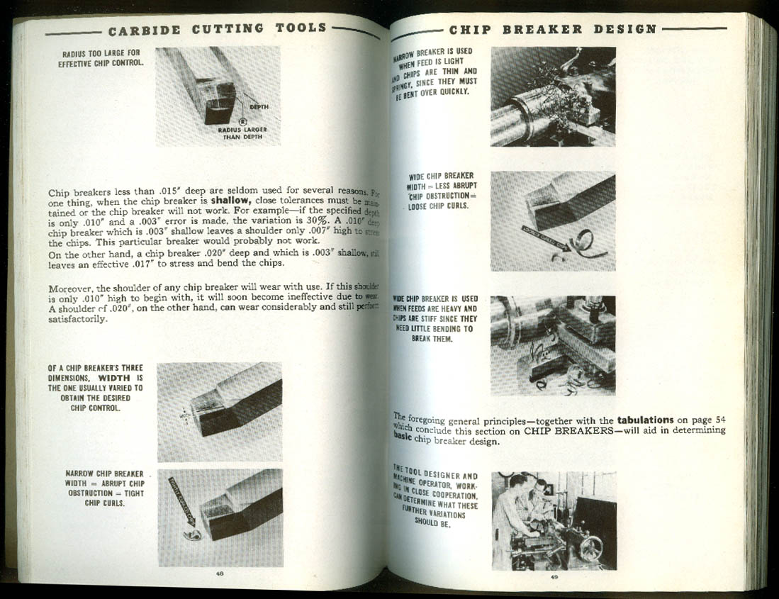 Carboloy Cemented Carbide Tool Manual 2/7 1949
