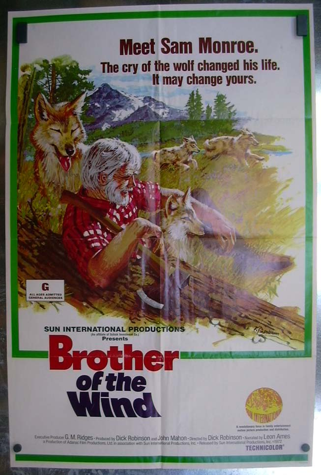 Brother of the Wind 1973 one-sheet movie poster Dick Robinson