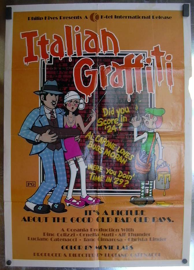 Image for Italian Graffiti 1973 one-sheet movie poster