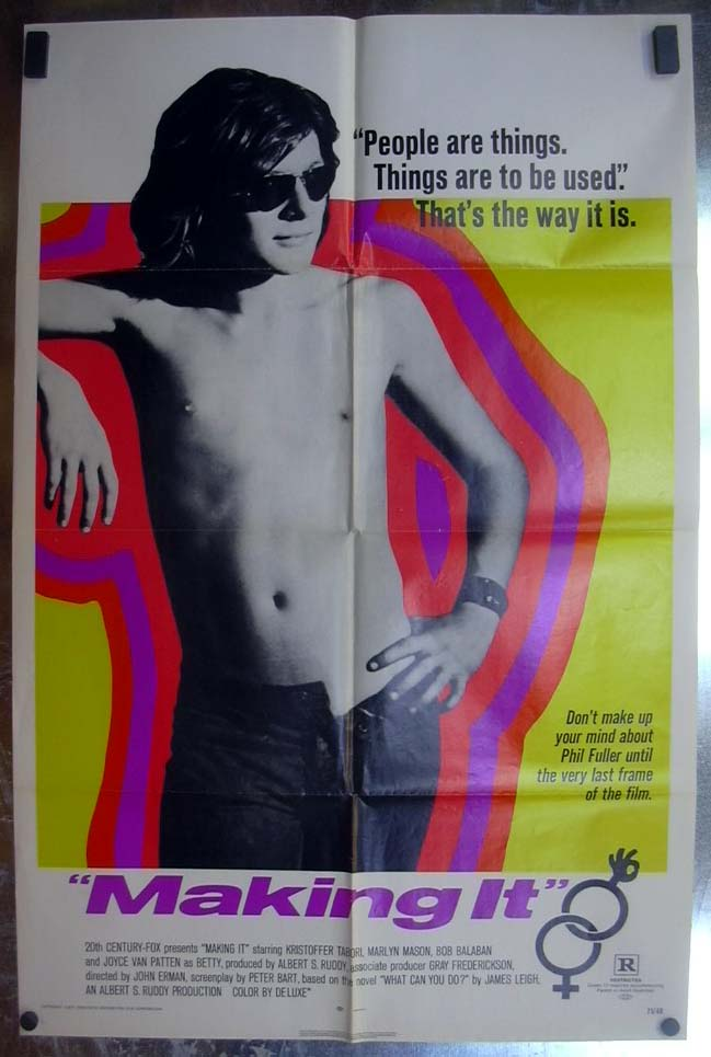 Image for Making It 1971 one-sheet movie poster Kristoffer Tabori
