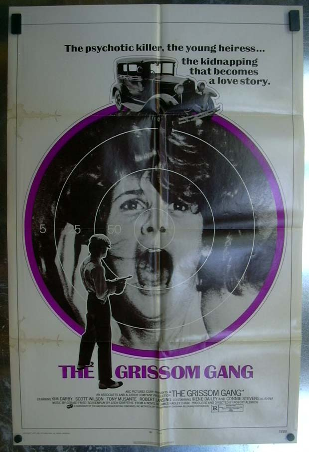 The Grissom Gang 1971 one-sheet movie poster Kim Darby