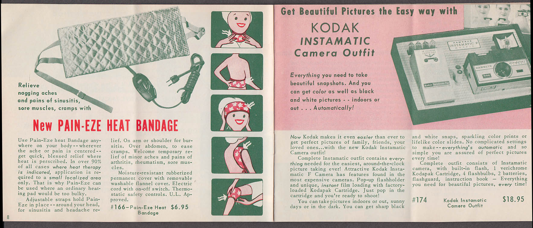 Christmas Mail Order Catalog.Scs Club Christmas Shopping Mail Order Catalog 1960s Camera Health