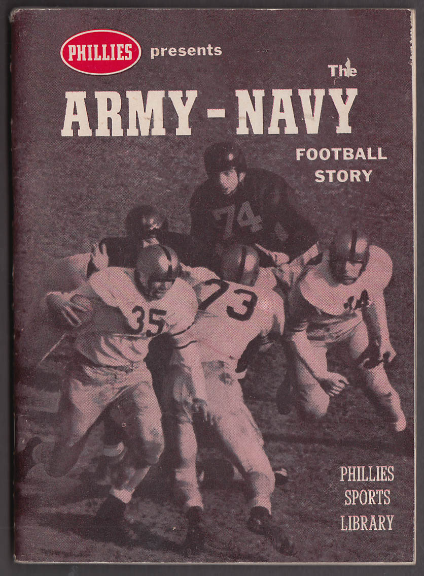 Phillies Cigars Army-Navy Football Story booklet 1959