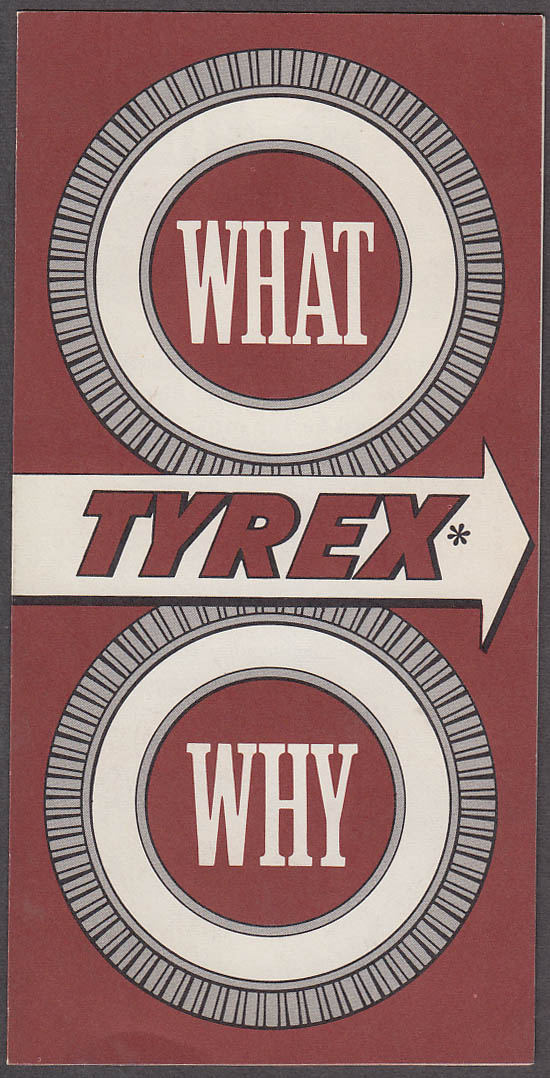 1959 Chevrolet Tyrex Tire Cord folder What & Why?