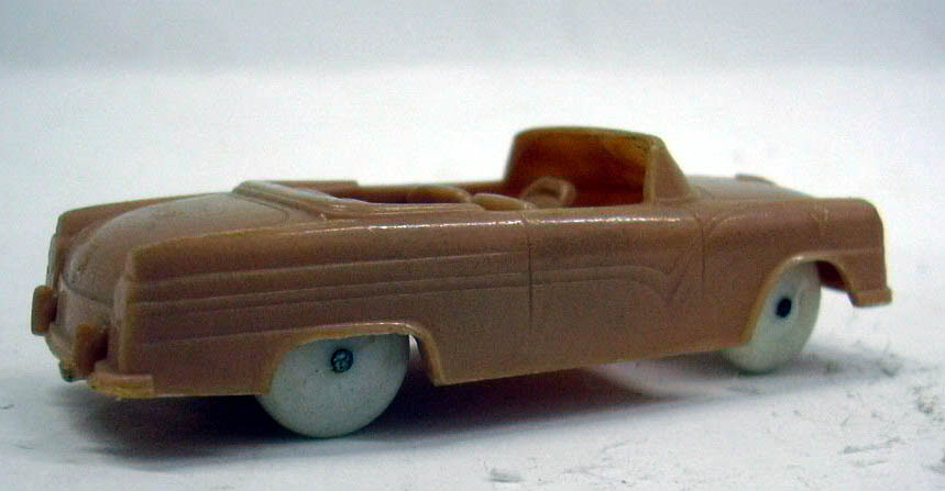 Image for 1955 Ford Sunliner Convertible in tan Wheaties cereal giveaway