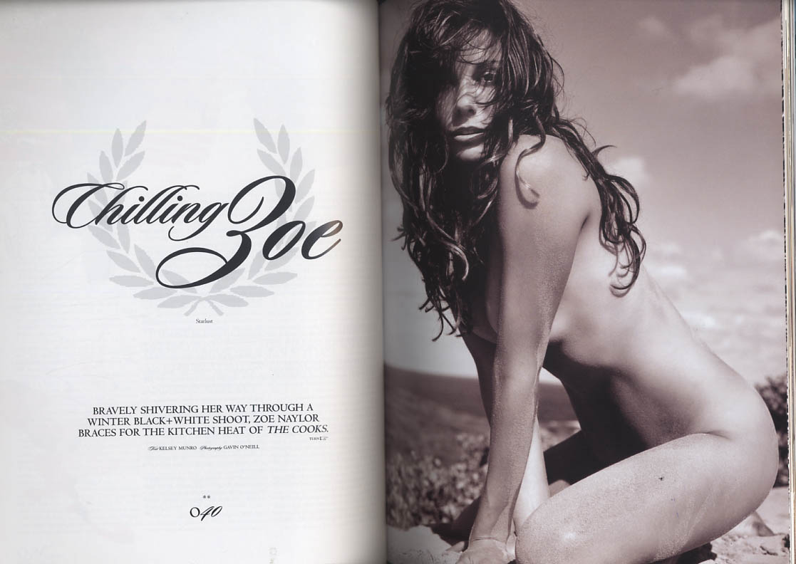 Image for NOT ONLY BLACK+WHITE #74 9 2004 Halle Berry Poppy Patti Smith Ali Safran Naylor