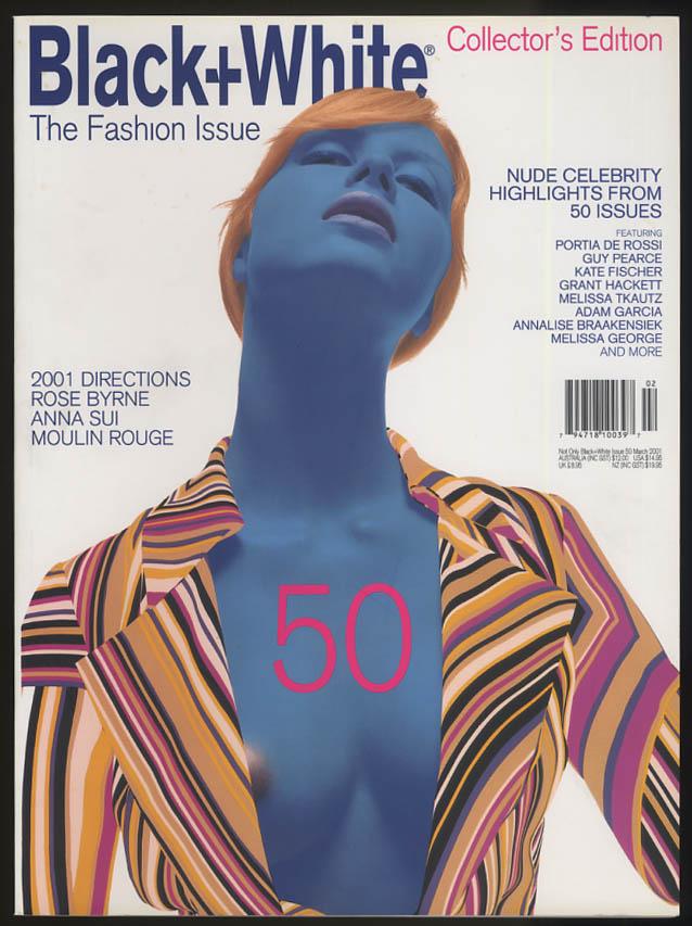 Image for NOT ONLY BLACK+WHITE #50 3 2001 Rose Byrne Sui Guy Pearce de Rossi Tkautz +