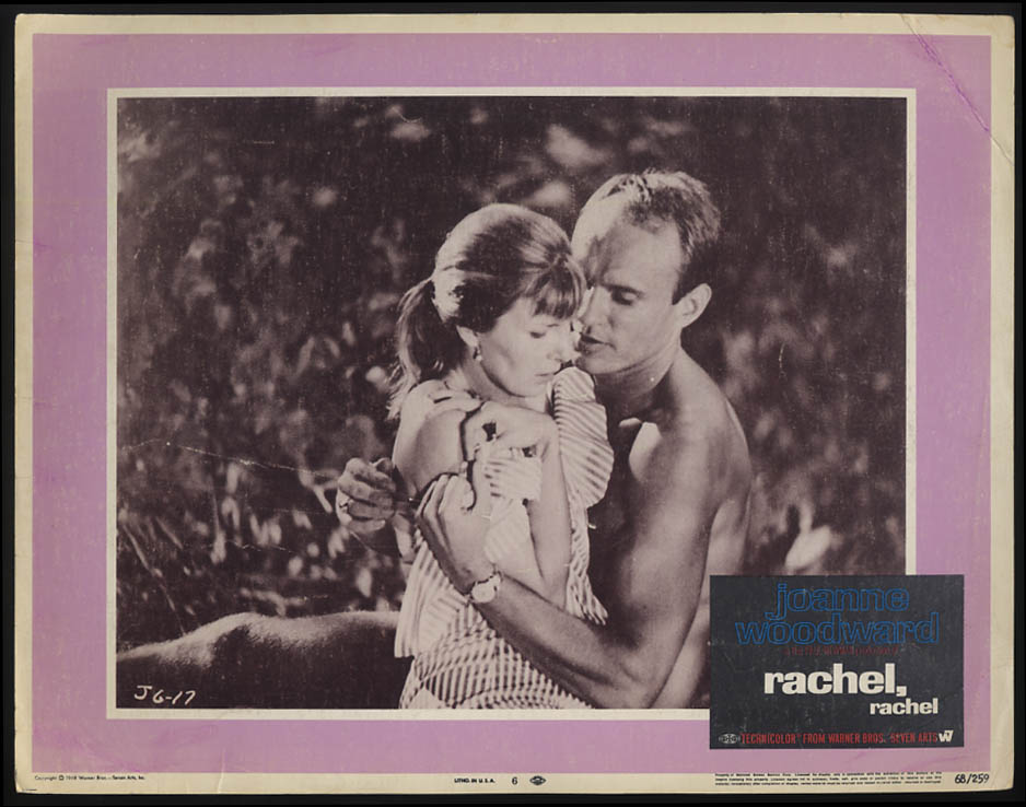 Image for Rachel, Rachel lobby card 1968 Joanne Woodward James Olson #1