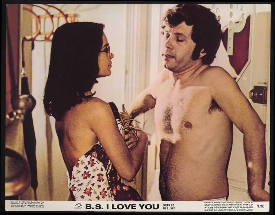 B S I Love You lobby card 1971 JoAnna Cameron & topless male