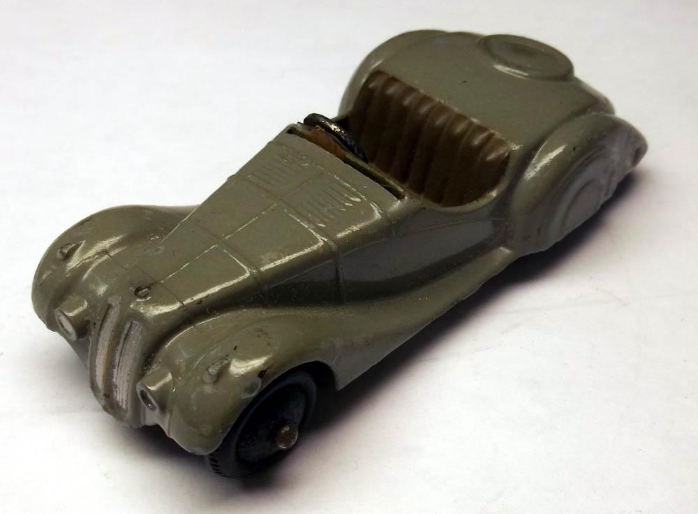 Dinky Frazer-Nash sports car #38a-G 1946-1953