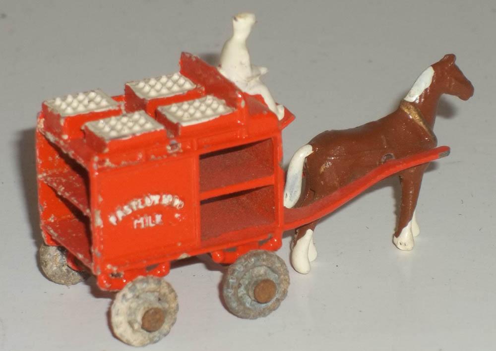 Lesney Horse Drawn Pasteurised Milk Float ca 1949