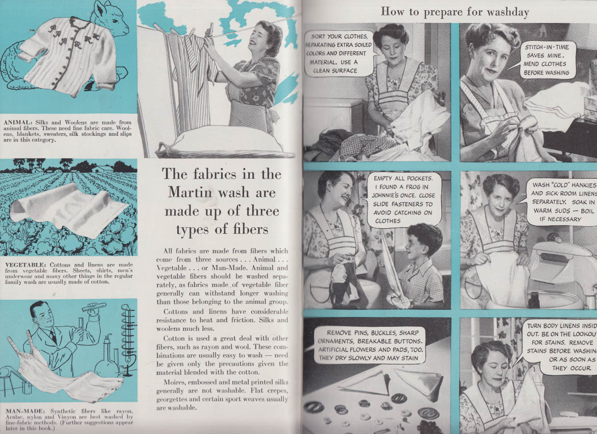 Apex Hour-Saving Guide to Better Home Laundering booklet 1946