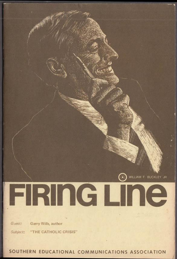 SECA William F Buckley Jr & Gary Wills FIRING LINE transcript 1973