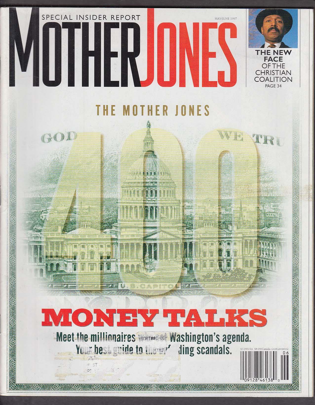 MOTHER JONES Arlie Hochschild Bill Clinton Paula Poundstone ++ 5-6 1997