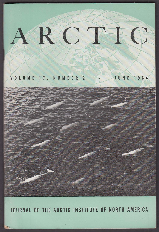 ARCTIC Limnological Investigation Nettilling Lake; Antarctica Toboggan ++ 6 1964