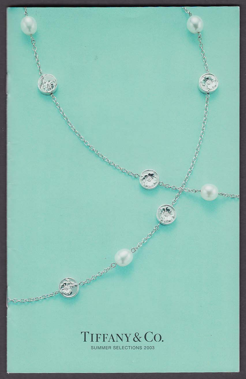 Tiffany & Co Summer Selections 2003 catalog