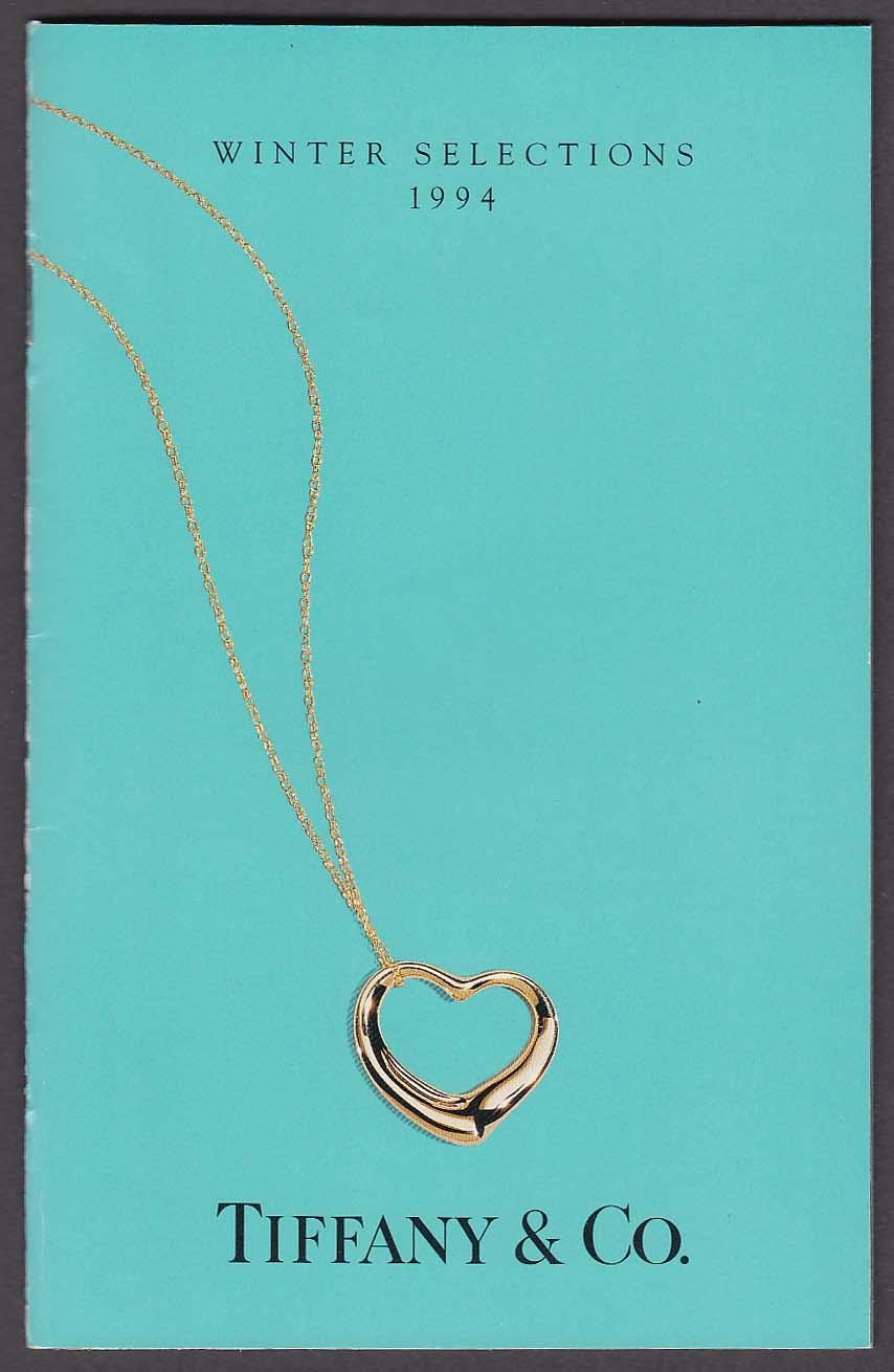 Tiffany & Co Winter Selections 1994 catalog