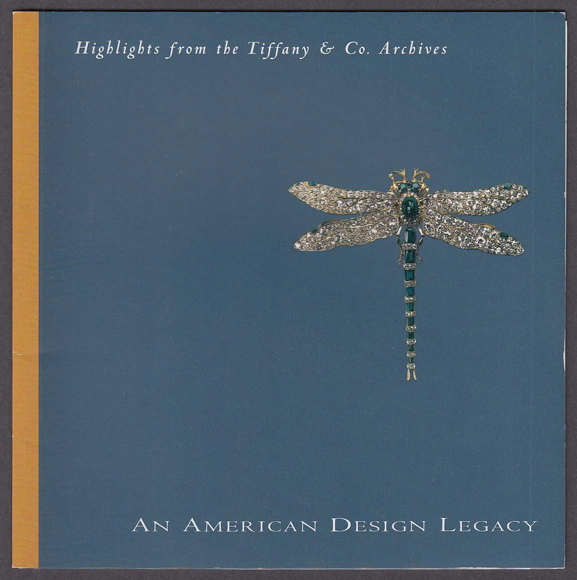Tiffany & Co Archives Highlights American Design Legacy folder