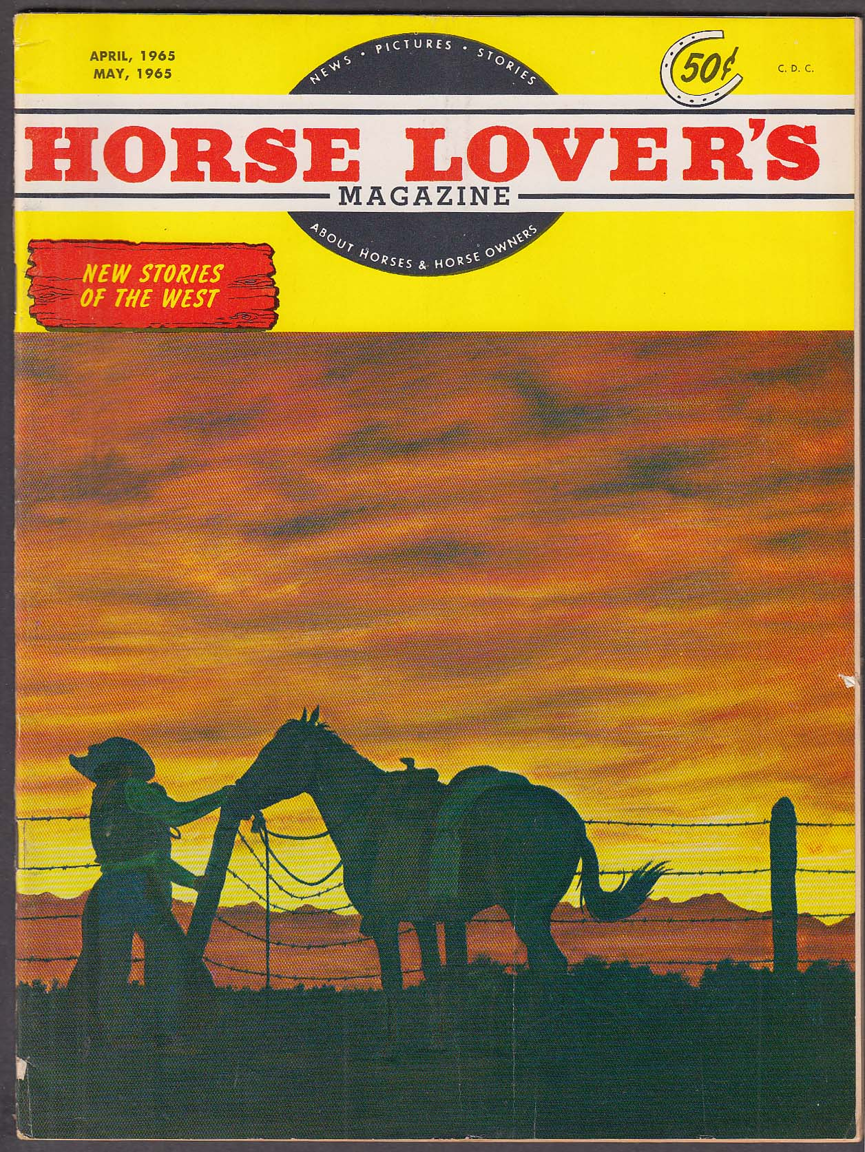 HORSE LOVER'S Polish Arabians in Canada Randy Steffen Chico ++ 4-5 1965