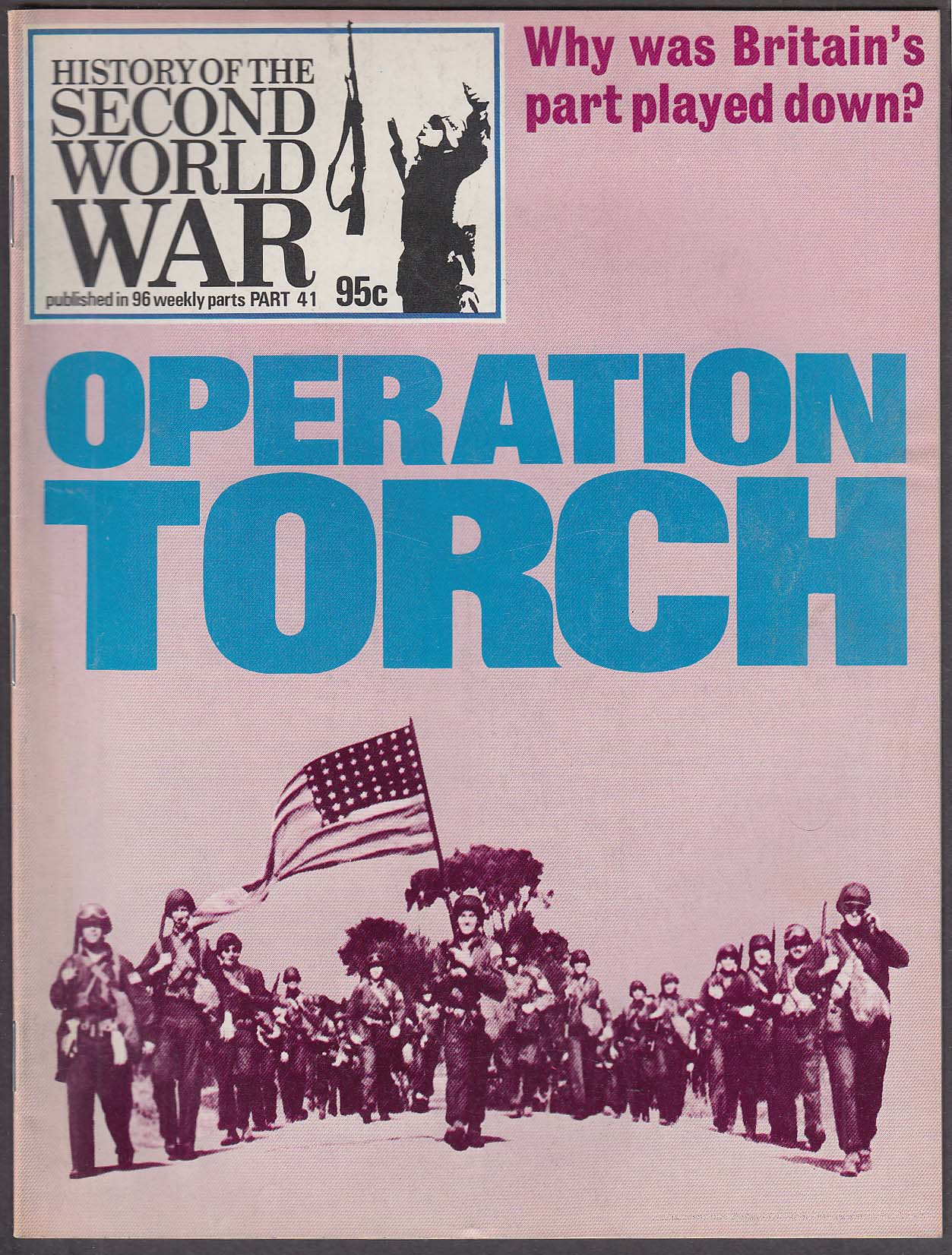 History of the SECOND WORLD WAR #41 Operation Torch Afrika Korps ++ 1974