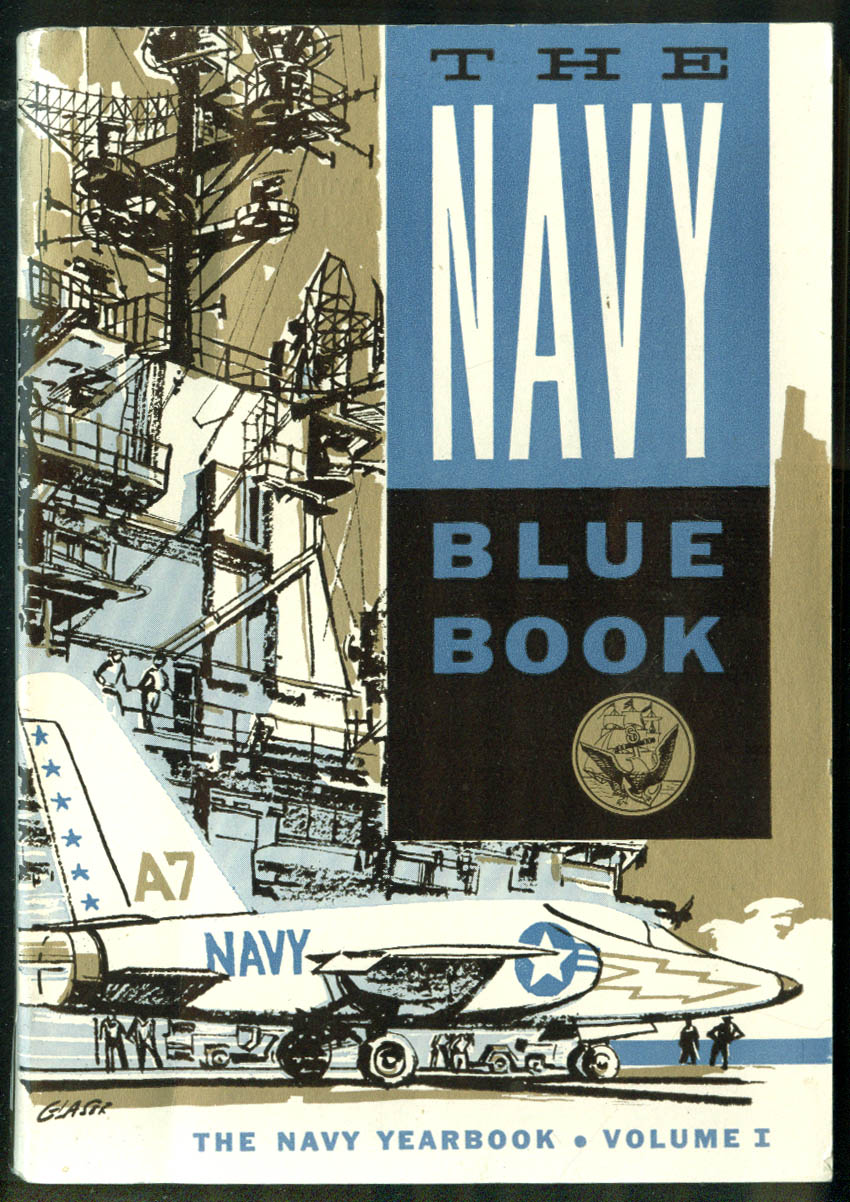Image for The U S Navy Blue Book Yearbook Volume I 1960