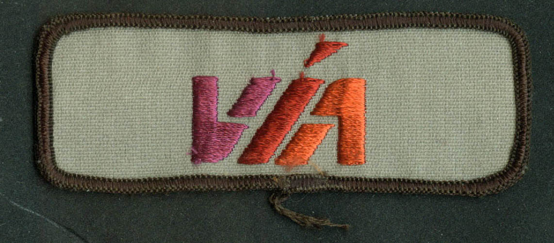 Via Metropolitan Transit San Antonio Tx Embroidered Cloth Patch 4 14