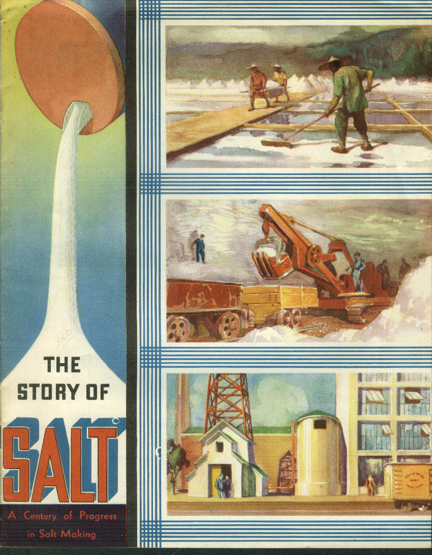 Chicago Century of Progress The Story of Morton Salt brochure 1933