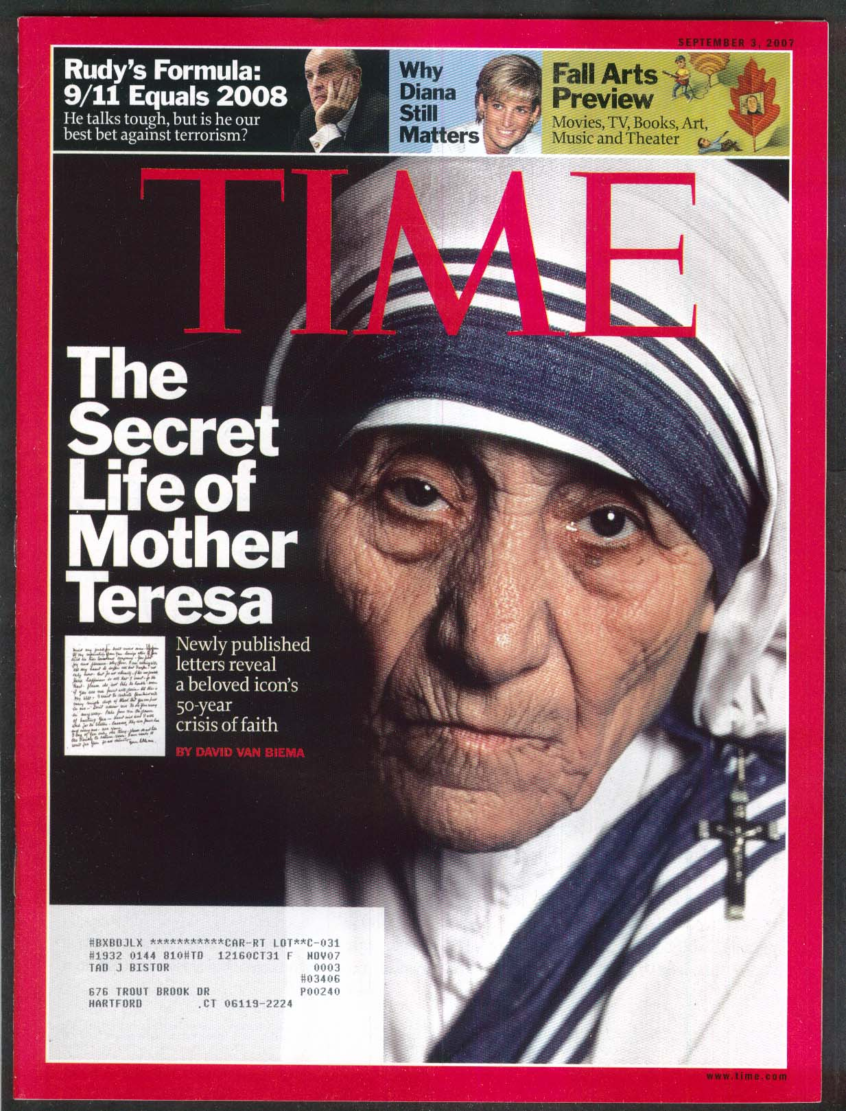 an outline of the life of mother teresa